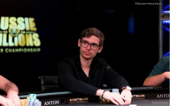 Fedor Holz at Aussie Millions